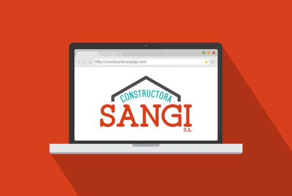 83pixeles | Constructora Sangi S.A. | Diseño Gráfico en Panamá