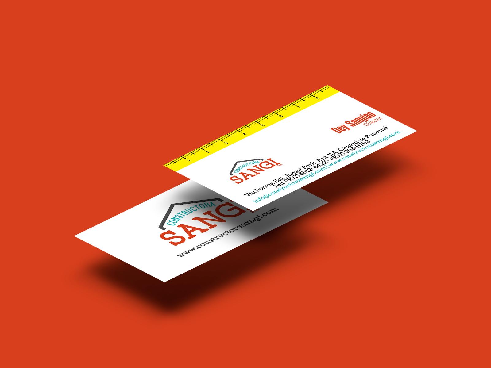 83pixeles | Constructora Sangi S.A. | Diseño Gráfico e Impresión en Panamá
