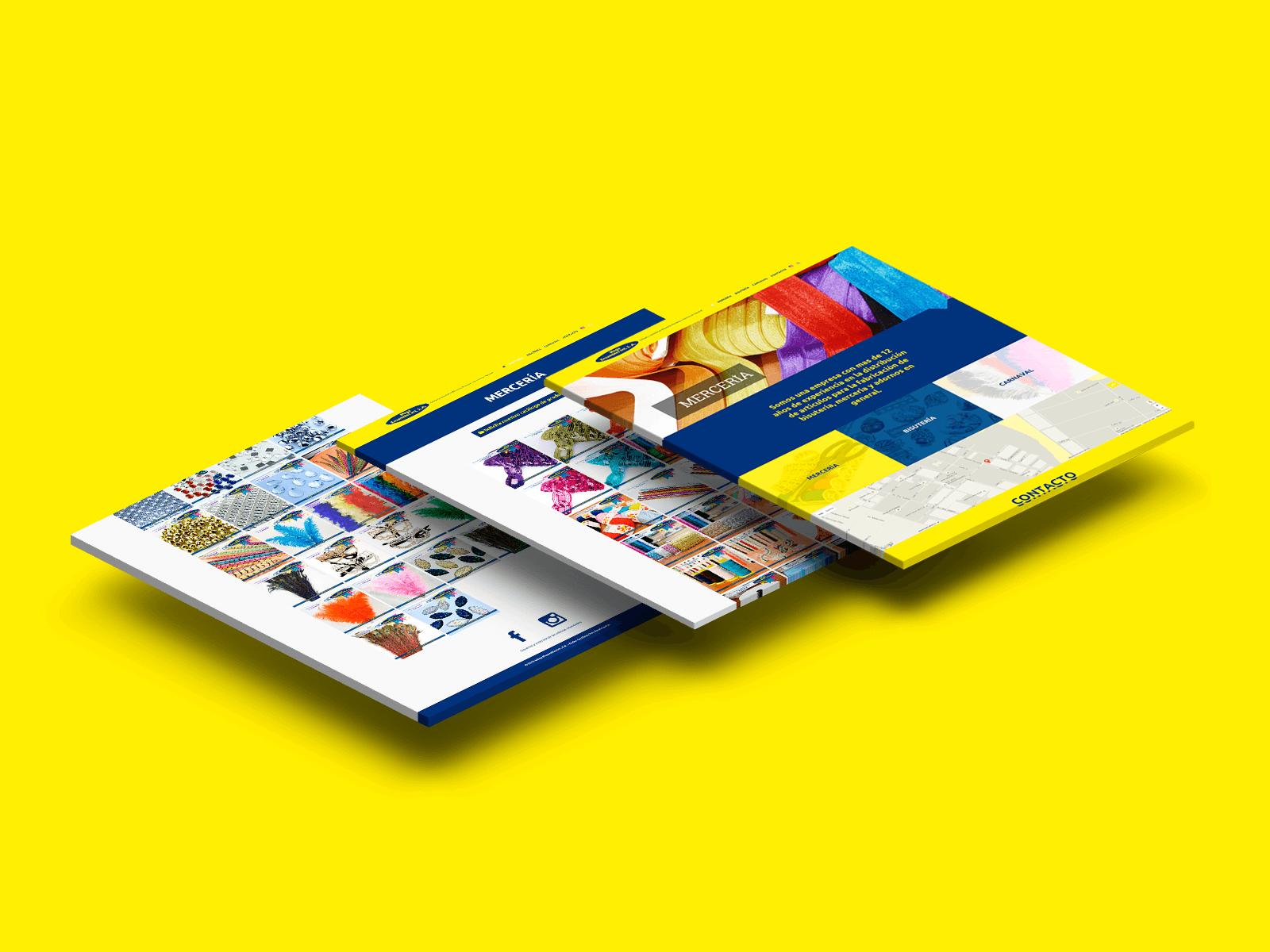 83pixeles | Mega Ensambles Int S.A. Diseño Web www.megaensambles.com en Panamá