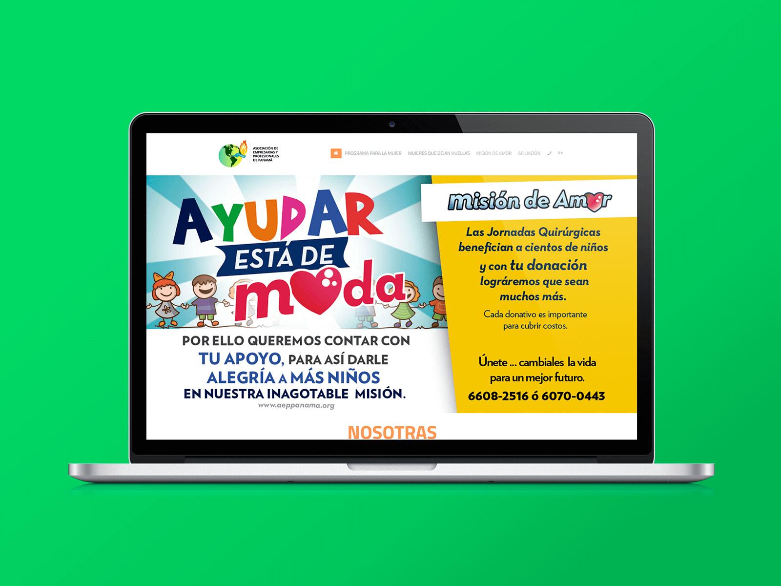 83pixeles | Asociación de Empresarias y Profesionales de Panamá | Diseño Web Responsive en Panamá