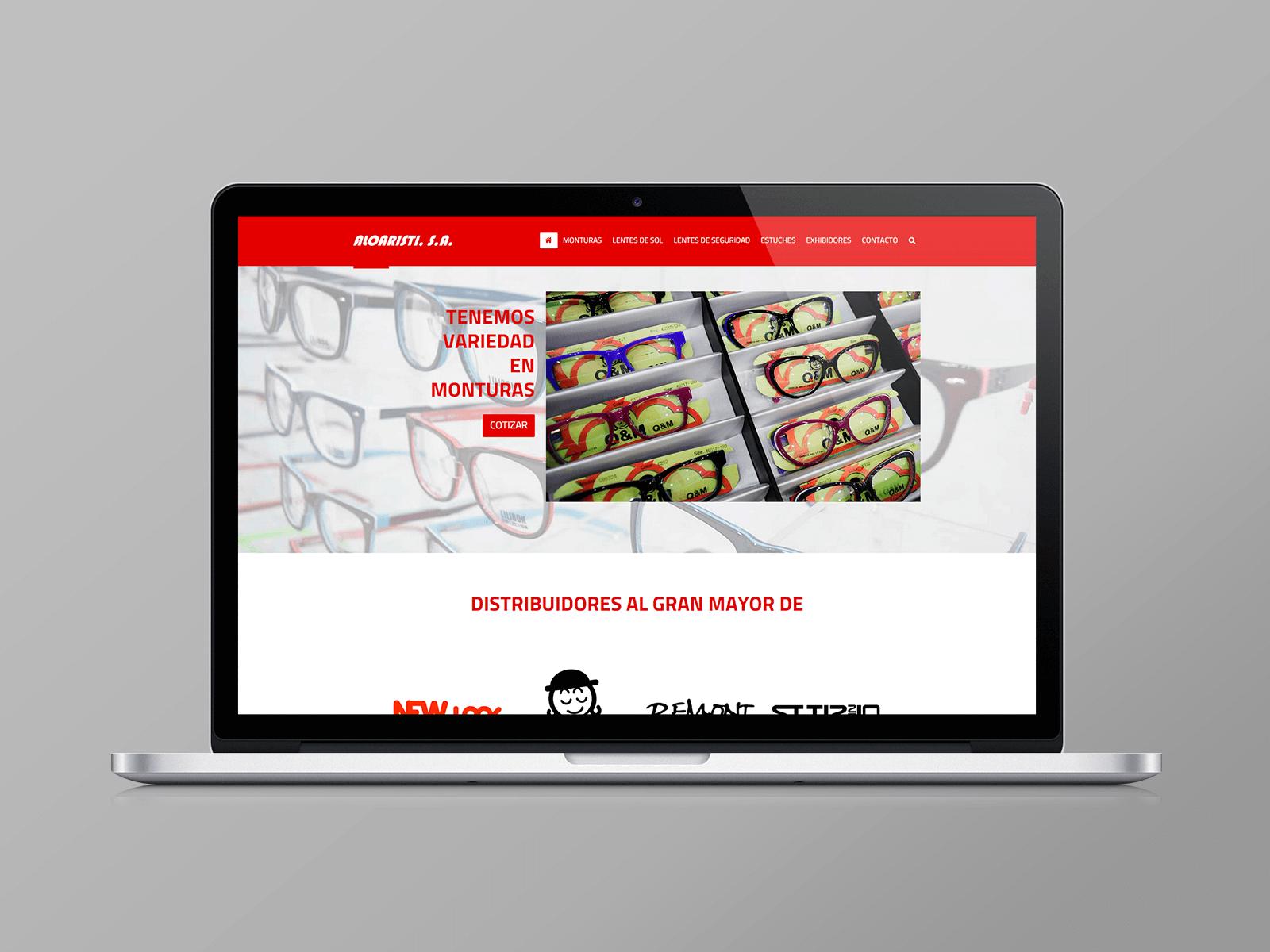 83pixeles | Aloaristi, S.A. | Diseño Web Responsive en Panamá