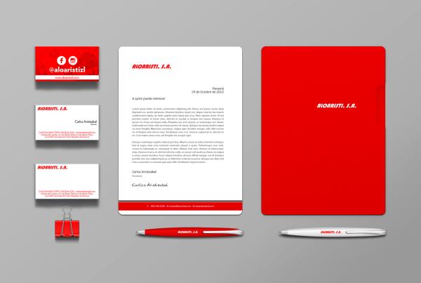 83pixeles | Aloaristi, S.A. | Diseño de Papelería, Tarjetas de Presentación en Panamá