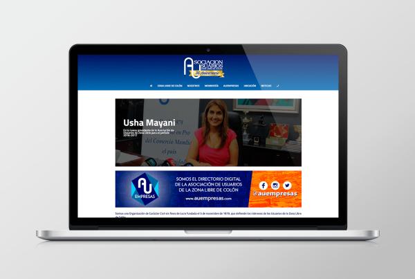 83pixeles | Asociación de Usuarios de la Zona Libre de Colón | Diseño Web Responsive en Panamá