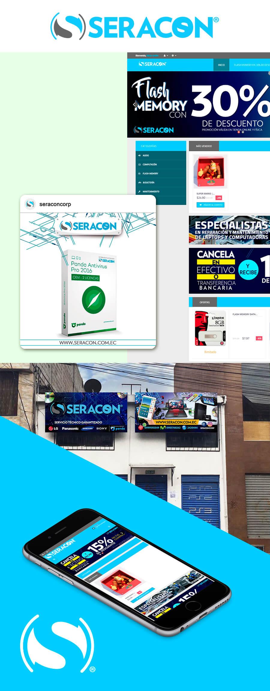 83pixeles | Seracon | Diseño Web Adaptativo en Ecuador | eCommerce