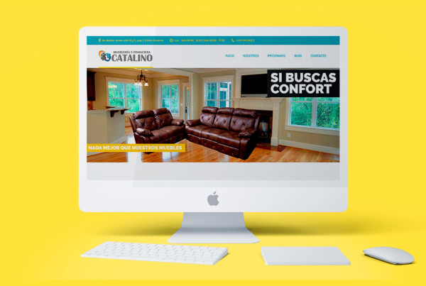 83pixeles | Mueblería y Financiera Catalino | Diseño Web Adaptativo en Panamá