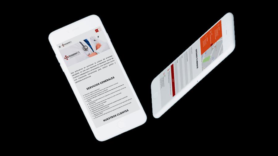 83pixeles | Occupamed | Diseño Web Adaptativo en Ecuador