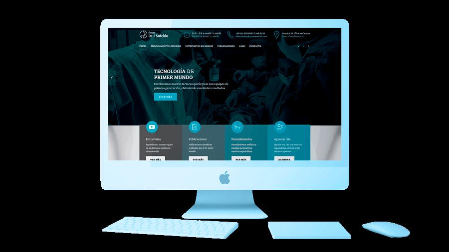 83pixeles | Grupo J Soteldo | Diseño web responsive adaptativo