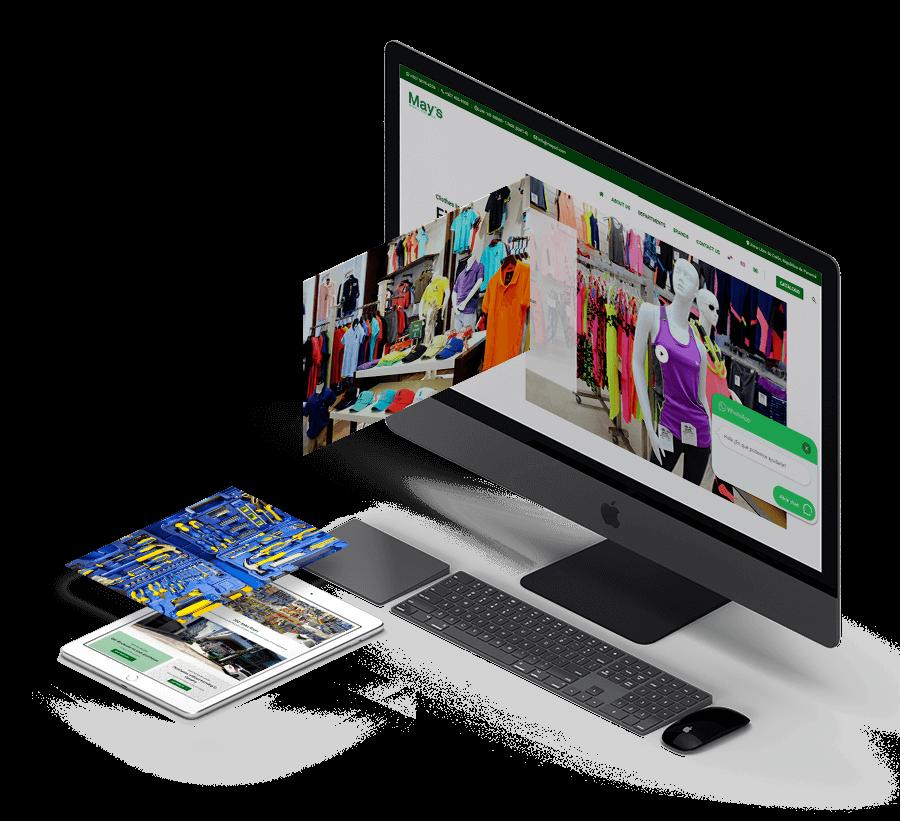 83pixeles | May's Zona Libre | Diseño web adaptativo en WordPress | Colón, Panamá