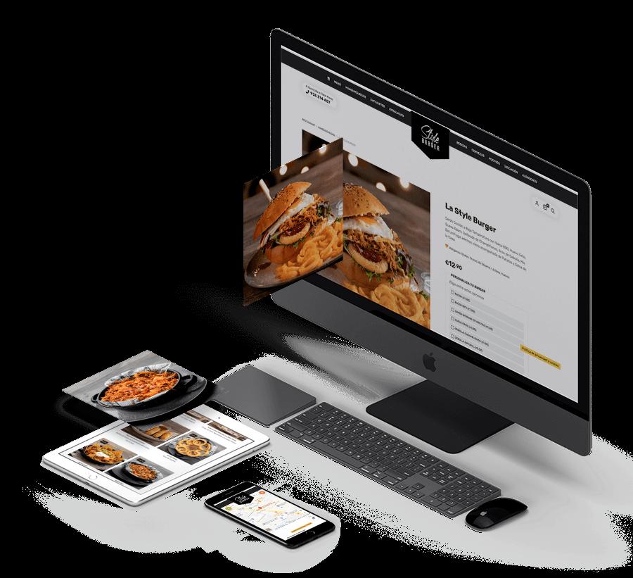 83pixeles   Style Burger   Diseño web adaptativo en WordPress   Sabadell, España